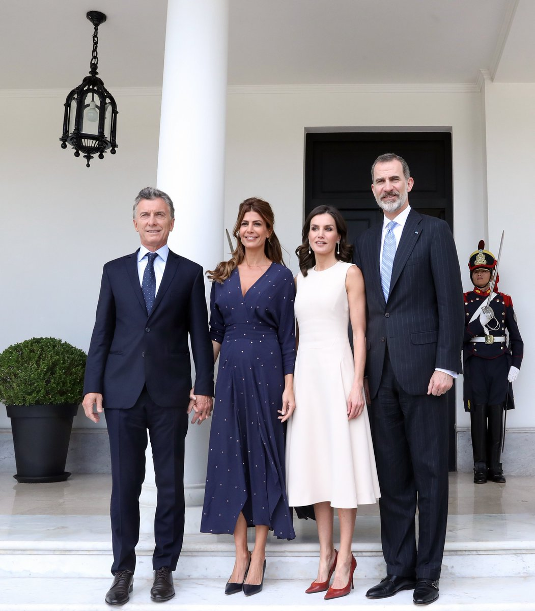 Mauricio Macri's photo on Felipe VI