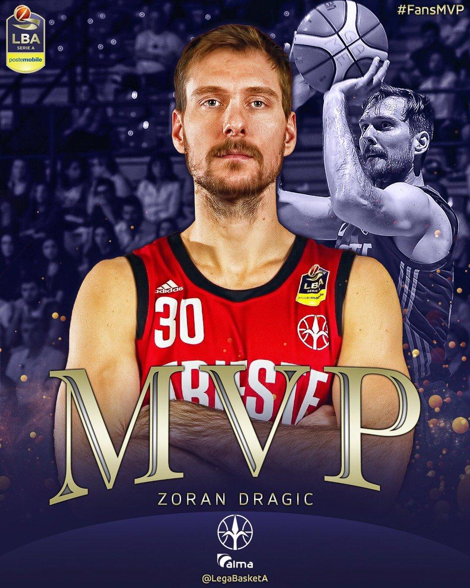 Zoran Dragic è il Miglior Giocatore del 23° turno #LBASerieA @PosteMobile! Il numero 30 dell'@AlmaTrieste risulta decisivo nella sfida del PalaBancoDesio grazie ai suoi 21 punti, 7 rimbalzi e 3 assist a referto ➡️ http://web.legabasket.it/video/541/ #TuttoUnAltroSport