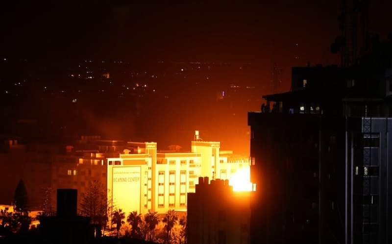 Airstrikes in #Gaza. #Israel
