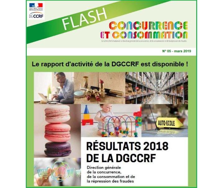 #publicationDGCCRF Consultez le « Flash » n° 5 de Concurrence et consommation, mars 2019 ! https://bit.ly/2uq5yJM