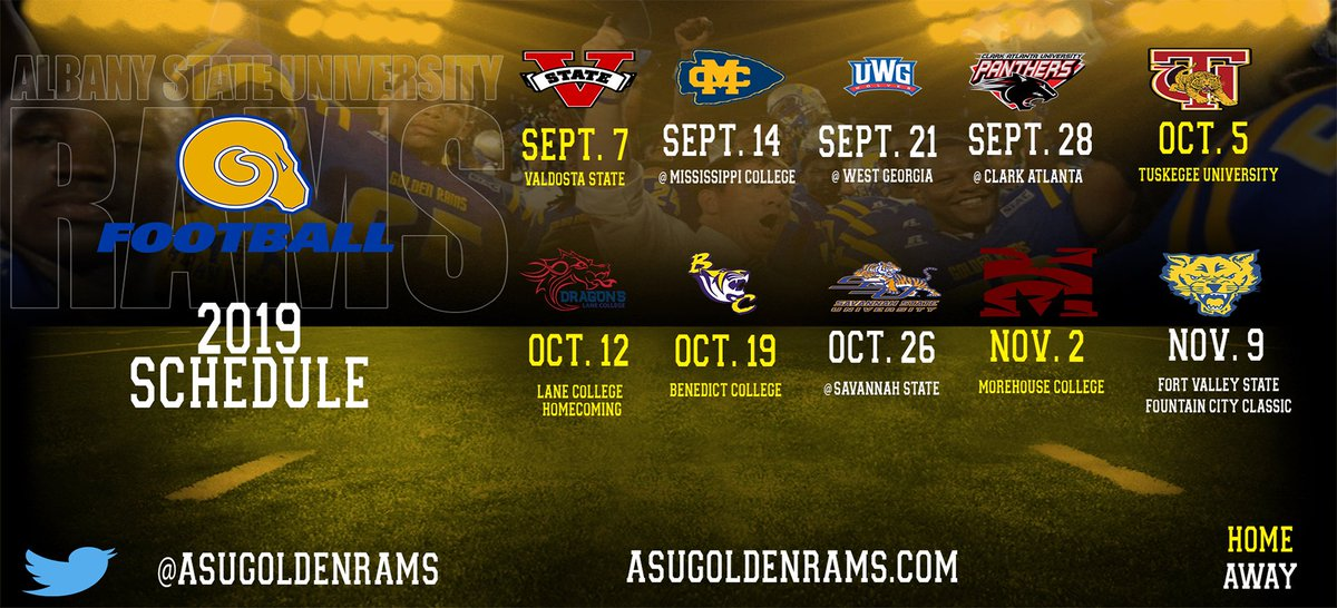 Are you ready for some football? #AlbanyState https://t.co/U3EhUjEOCa https://t.co/HbIVXbBNwg