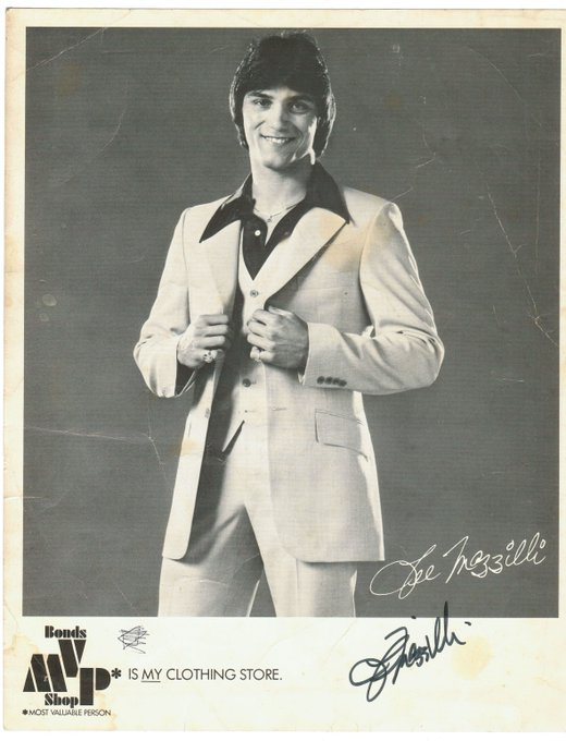 Happy \80s Birthday to icon Lee Mazzilli.   His son is in the system.