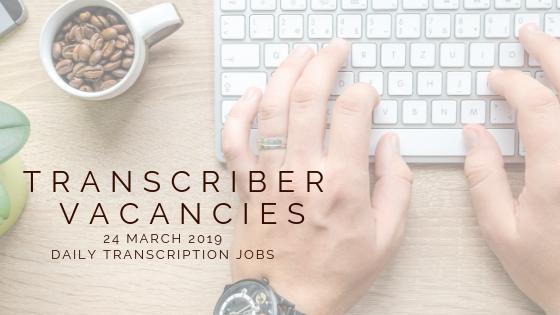 Daily Transcription Jobs (@DailyTranscrip1) | Twitter