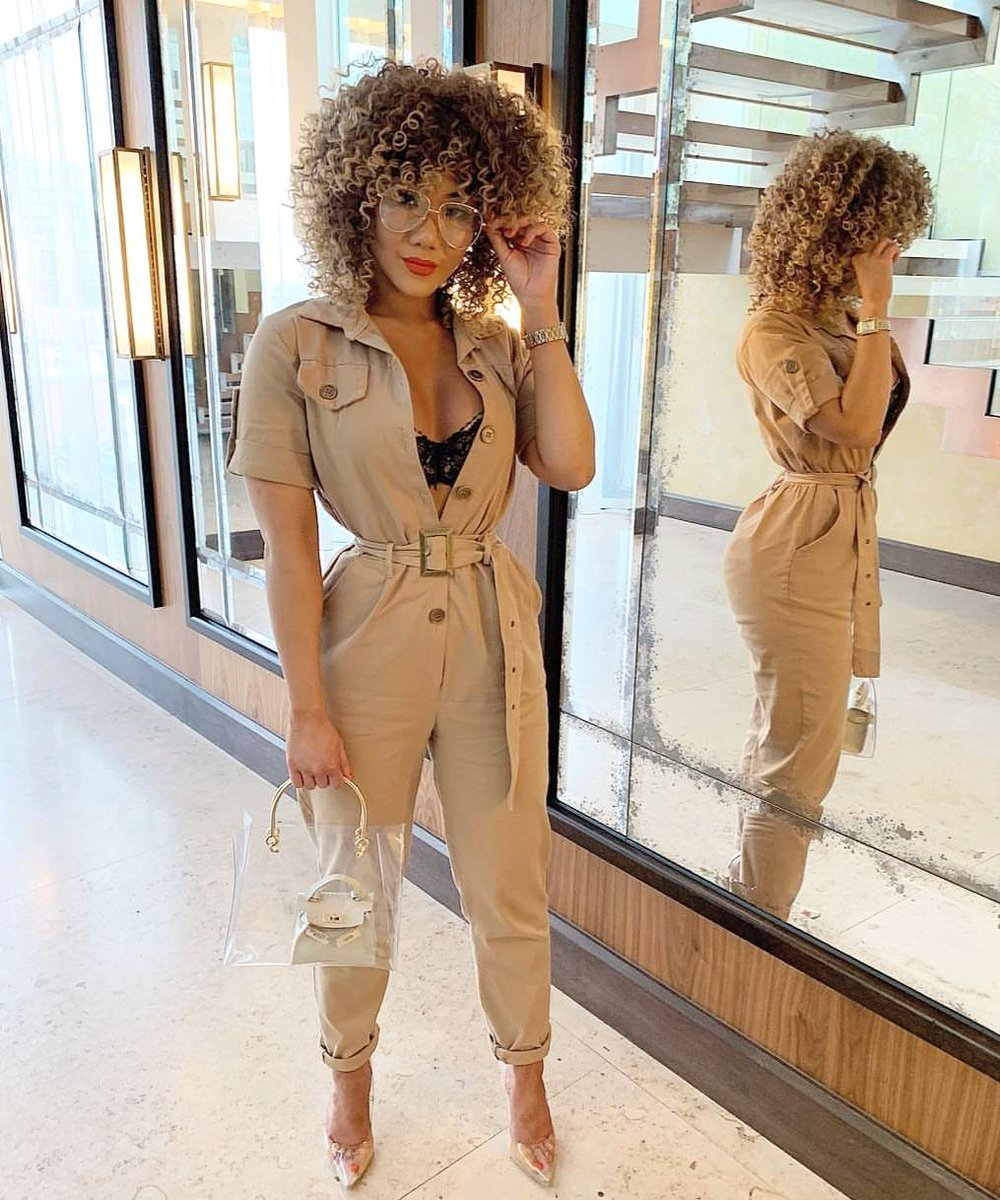 Image for GRL KRUSH 💖  @kamoonc out & about wearing the VIRGO Jumpsuit 😍  Shop ALL New 👉🏽 https://t.co/5y08kiUfWH #ikrushbabe https://t.co/iVoylAi1iC