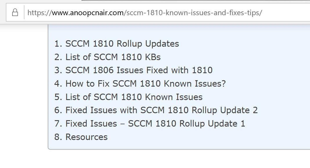 configmgr - Twitter Search