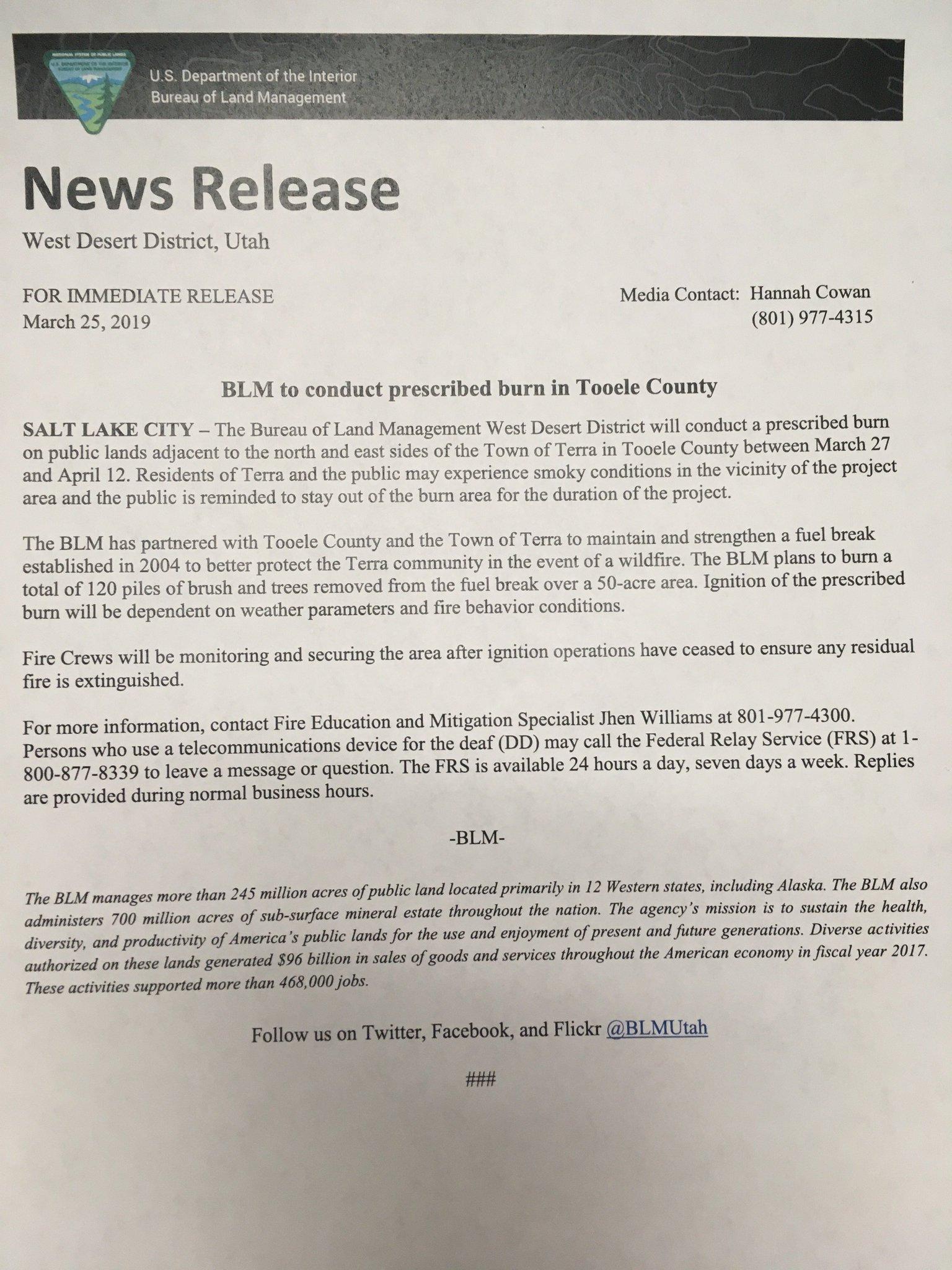 Utah Fire Info on Twitter: