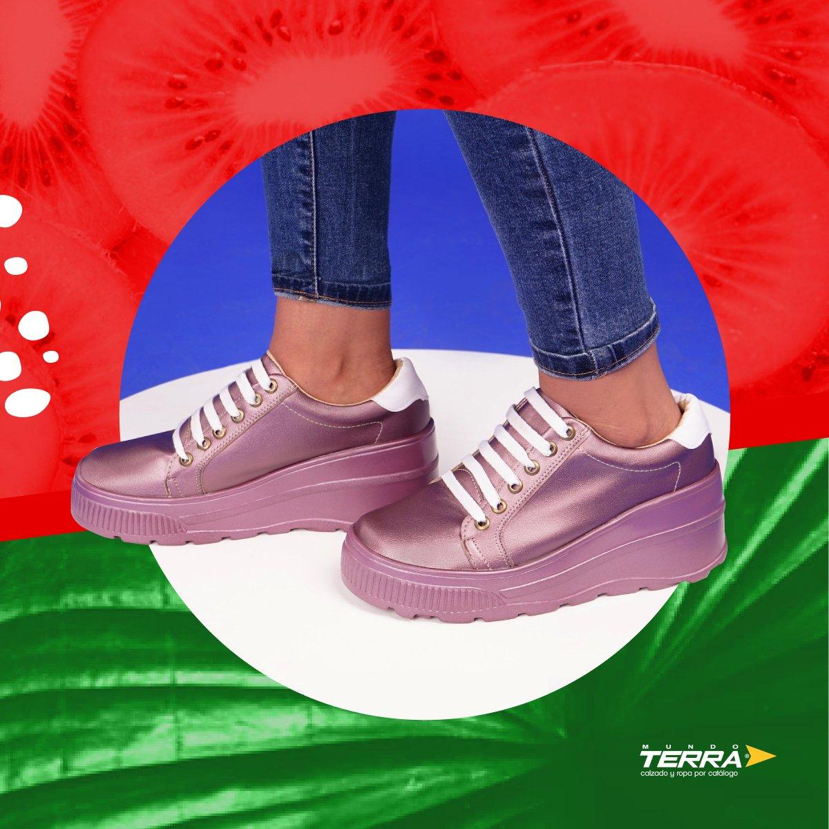 Dale tu estilo a cada paso.  #mundoterra #shoes #loveshoes #look #outfit #primavera #loveit #ropa #zapatos #fashion #moda https://t.co/RhvFi1heE0