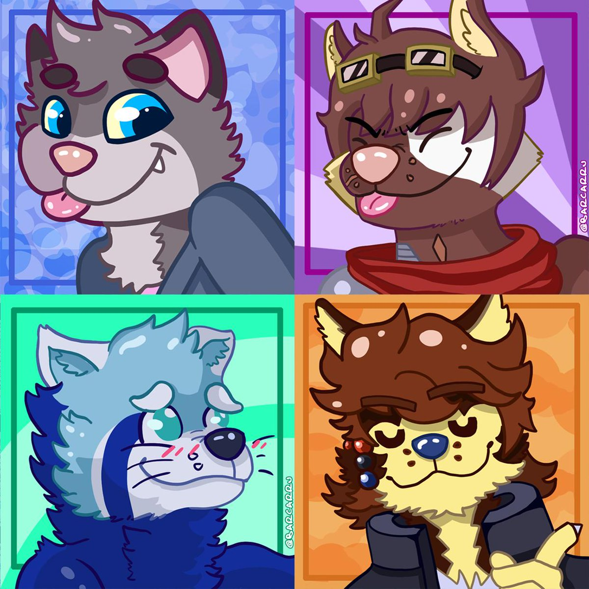ART RAFFLE  #2!   PRIZES  - 1 FREE Flat icon (1st pic) - 1 FREE Full Paint Icon (2nd pic) - 50% OFF on a Full Illus (3rd pic)   To participate    Follow me! Retweet THIS TWEET!  Will announce 3 winners on April 1st!   #furry #furryart #raffle #freeraffle #icons<br>http://pic.twitter.com/V55cS5apPM