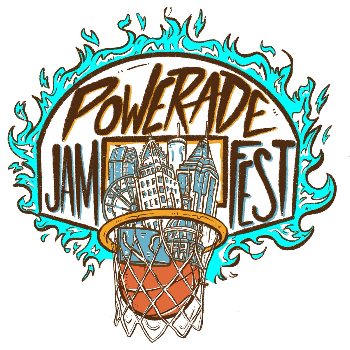 Tomorrow's legends play TONIGHT at #PoweradeJamFest! Monday March 25 at 7:30 p.m. EDT on ESPN 2.