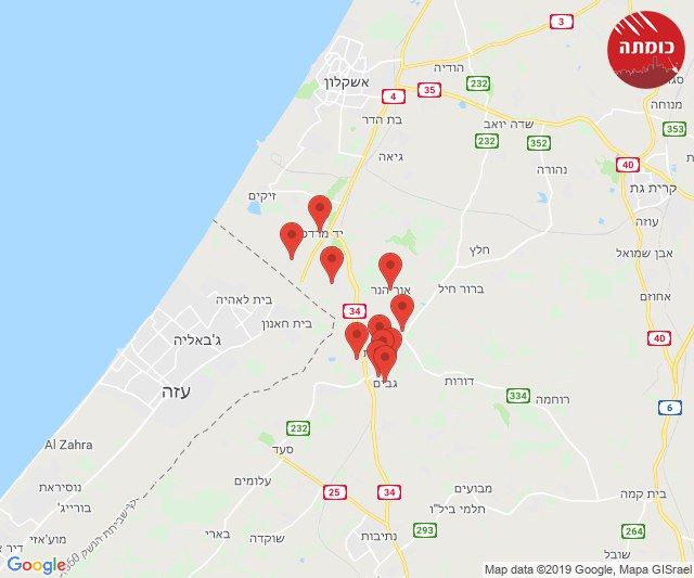 Another rocket alert southern #Israel. #Gaza