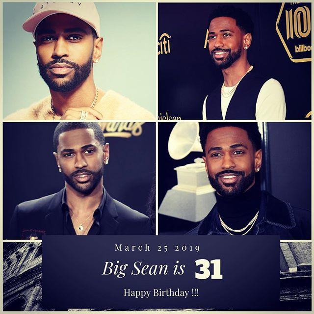 Rapper Big Sean turns 31 today !!!    to wish him a happy Birthday !!!