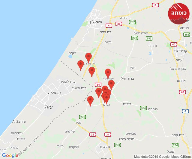 Another rocket barrage southern #Israel.