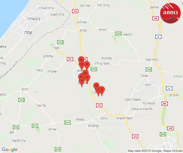 Massive barrage against southern #Israel. #Gaza