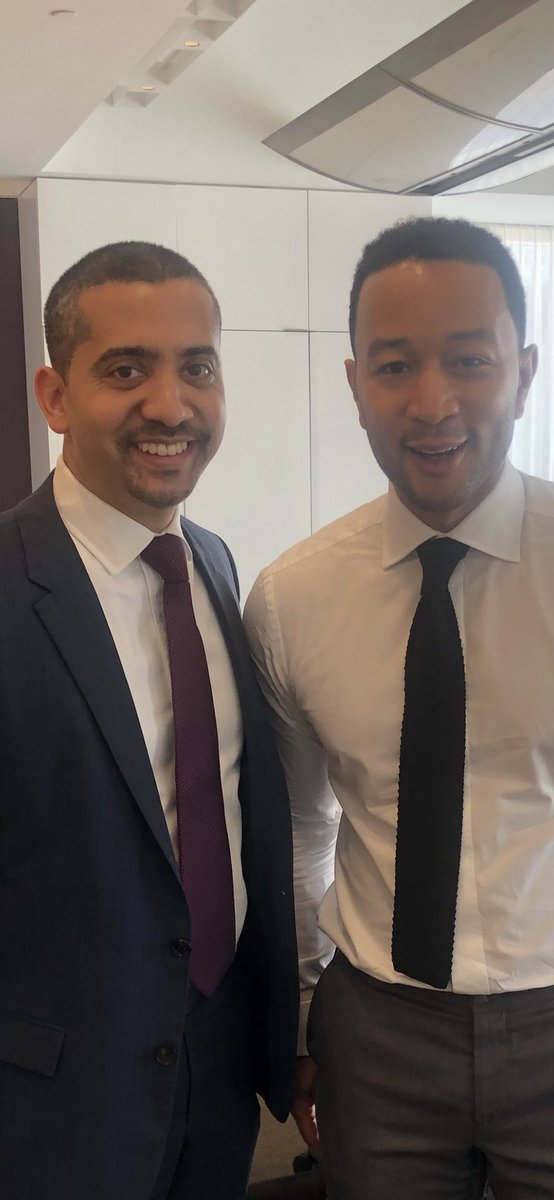 Here in LA today, I had the pleasure of chatting politics with the man, the myth, the legend, @johnlegend. Thank you John for using your massive platform to uplift not just your community, but all our communities - including the oft-forgotten Palestinians.