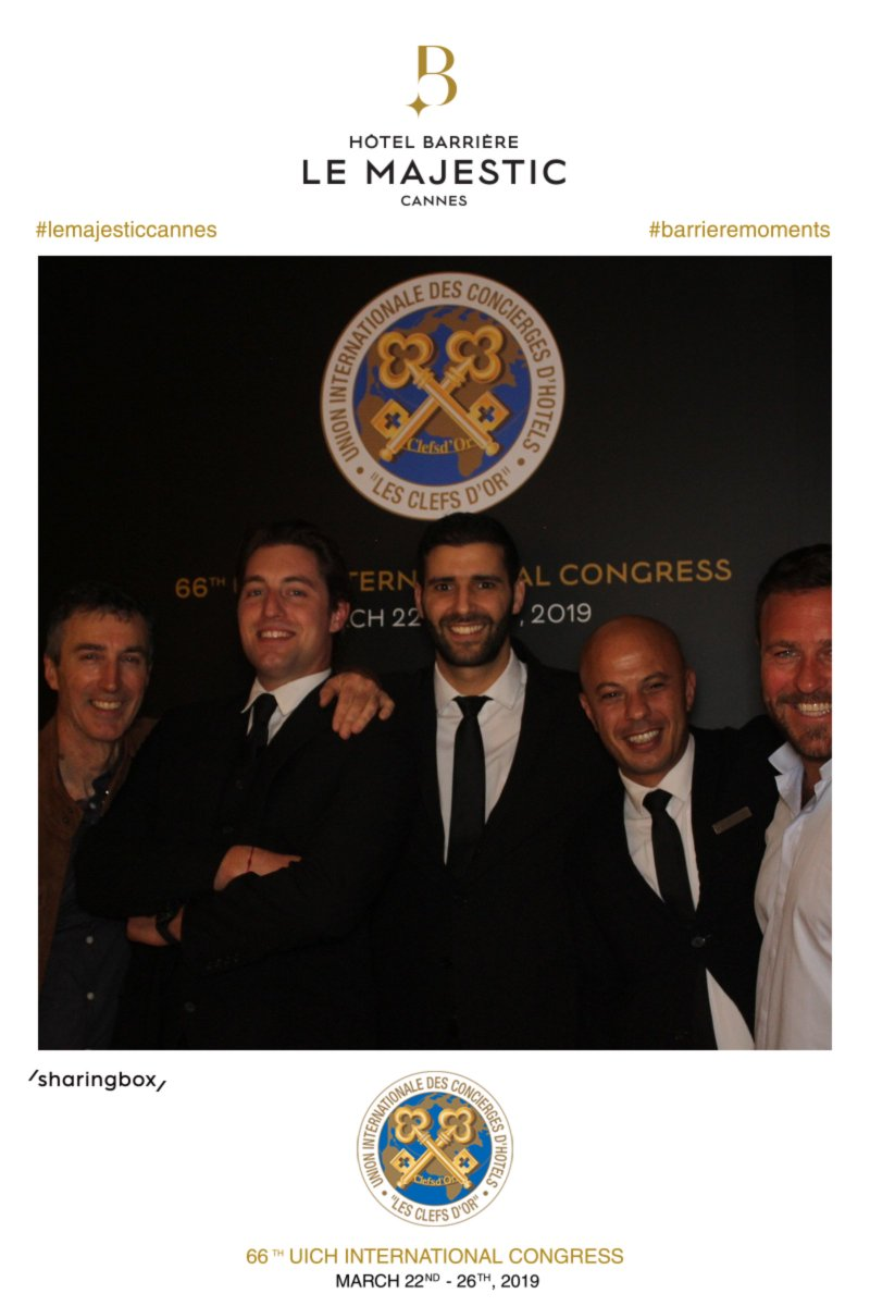 66TH UICH INTERNATIONAL CONGRESS  at the Hôtel Barrière Le Majestic Cannes #lemajesticcannes #barrieremoments