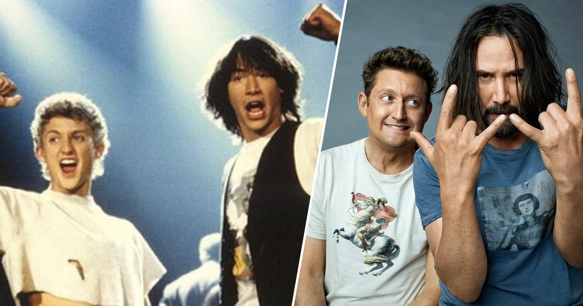 Who's with us? facebook.com/groups/billand… #BillandTed #AlexWinter #KeanuReeves