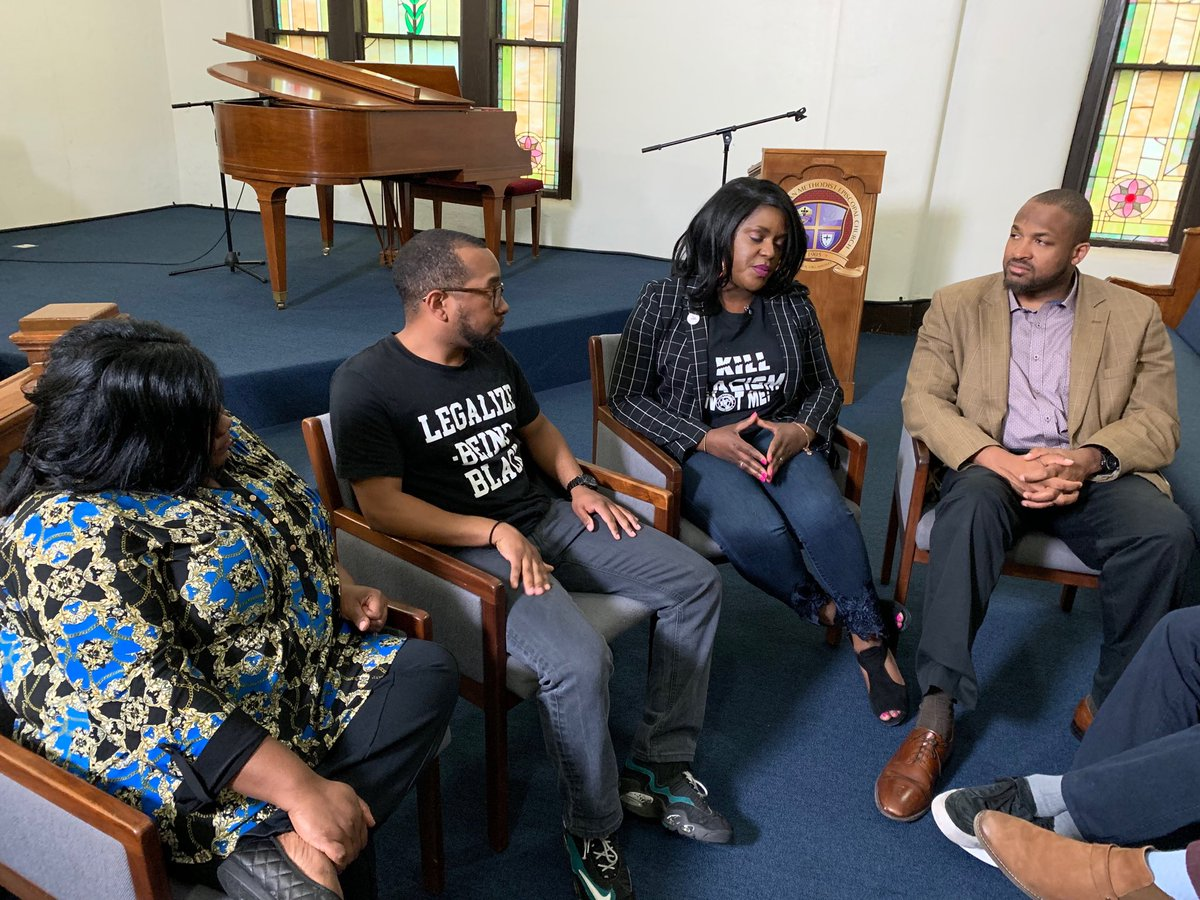 Thank you @TiffanyCrutcher for sharing your story with @hrw and for continuing to fight for justice, not only for your brother, but for police reform for the entire Tulsa community.