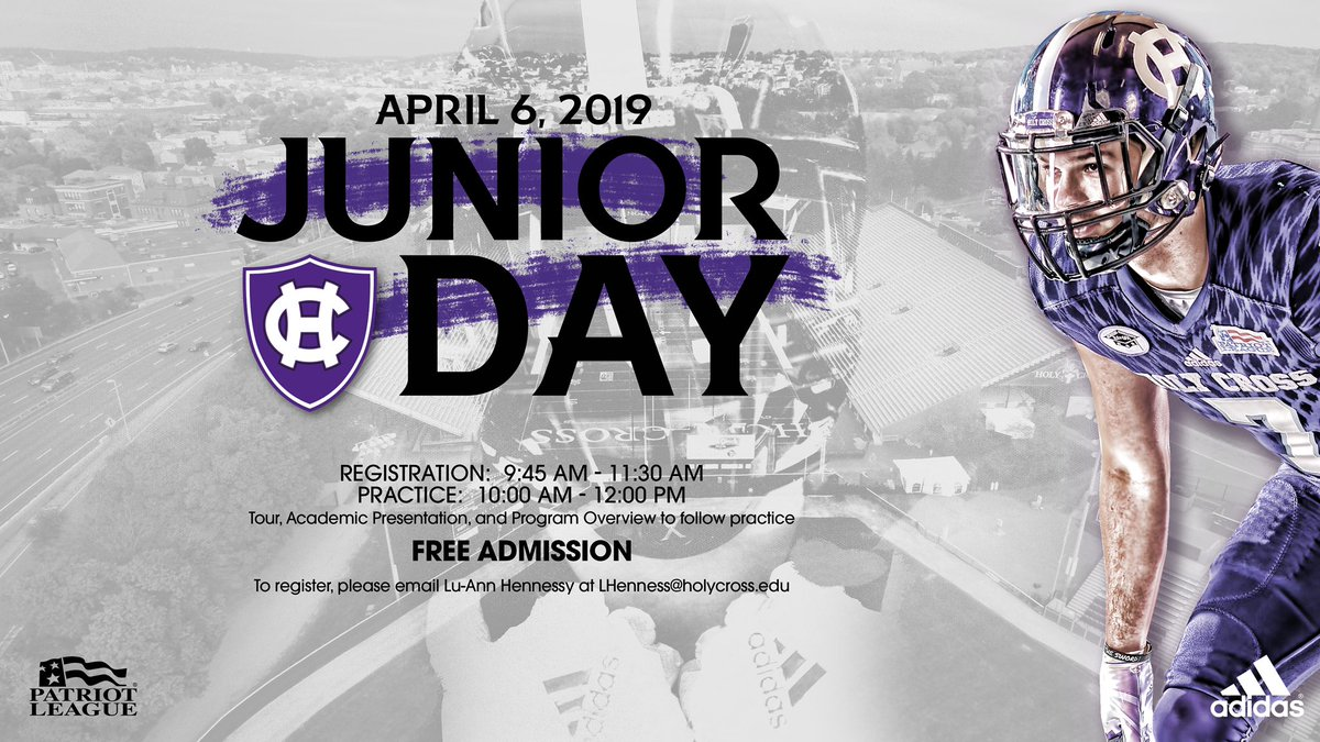 Thank you @Coach_Smith61 for an invite to the Holy Cross Junior Day!..✝️🙌🏻