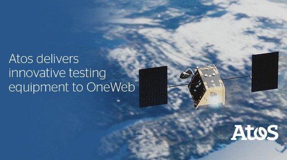 Atos da soporte a @OneWeb en el lanzamiento de sus satélites - via @Redesbps...