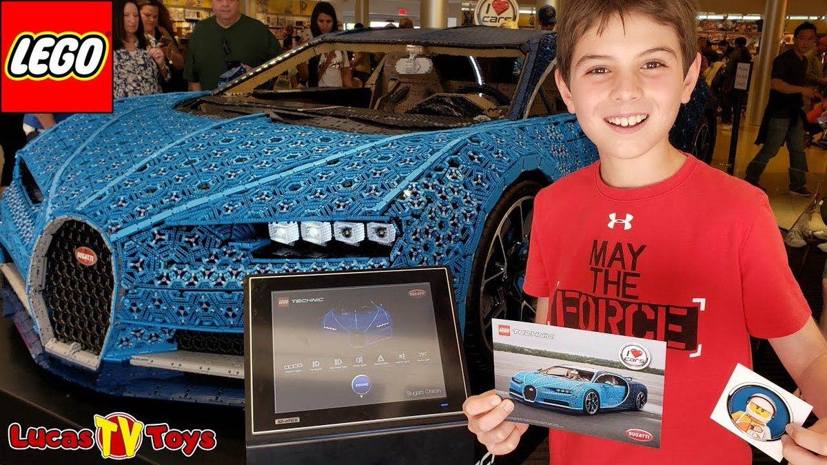 Lucastvtoys Life Size Lego Technic Bugatti Chiron At Disney Springs