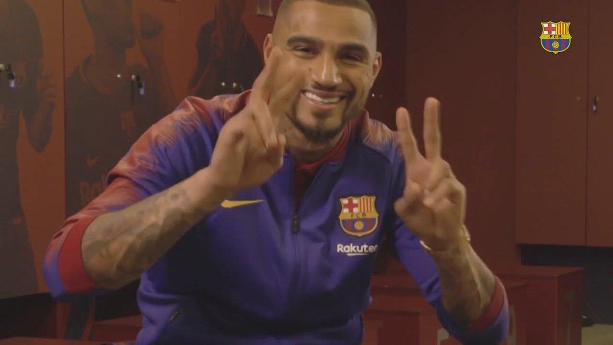 Bester Mitspieler? Kevin-Prince Boateng vom FC Barcelona nennt nicht Lionel Messi
