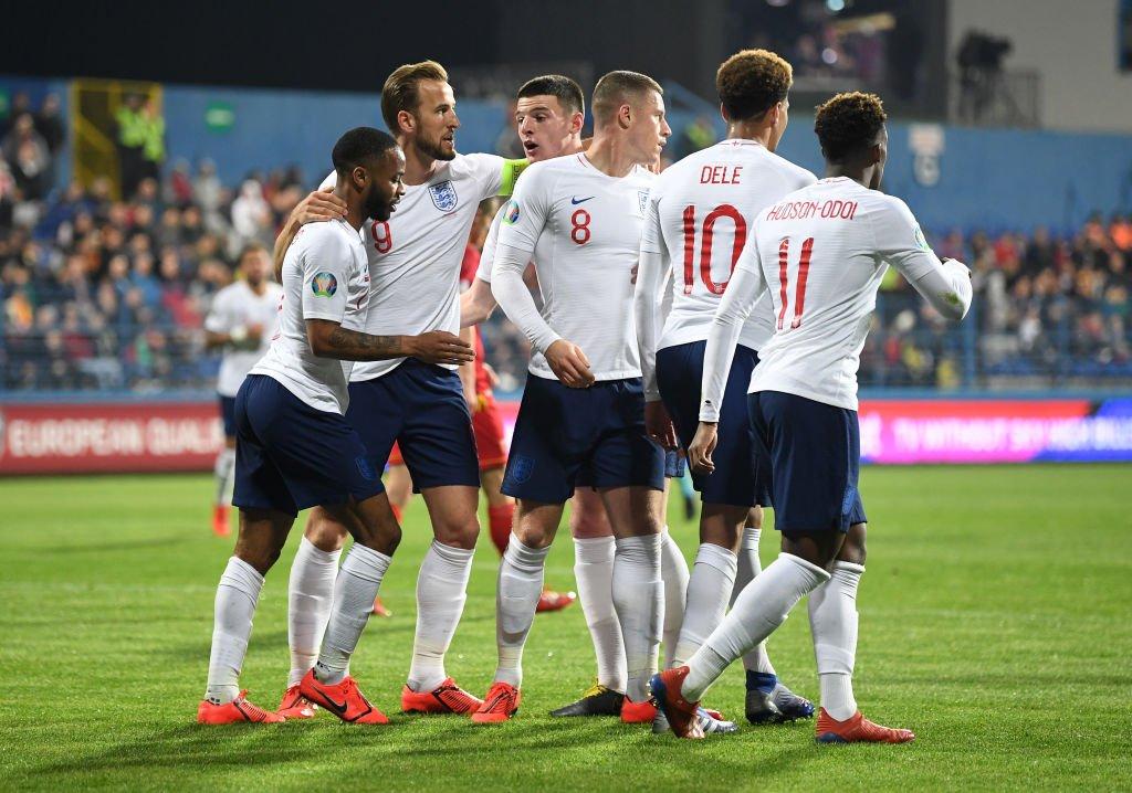 أهداف مباراة إنجلترا والجبل الأسود (5-1) - تصفيات أمم أوروبا