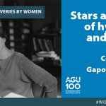 Image for the Tweet beginning: To round out #WomensHistoryMonth, @theAGU