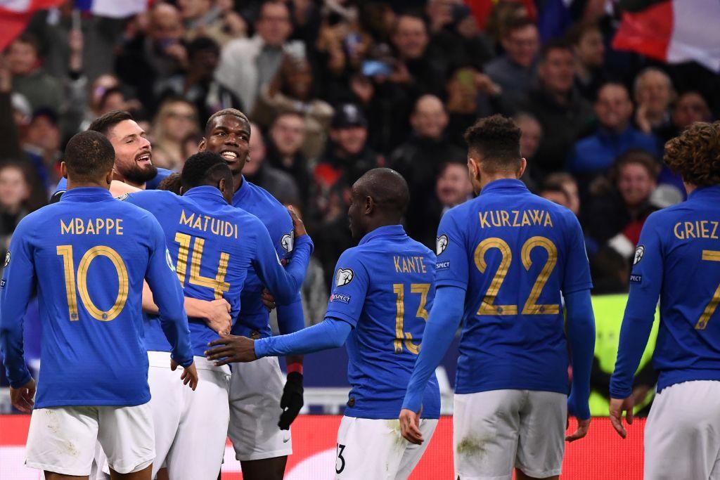 أهداف مباراة فرنسا وأيسلندا (4-0) - تصفيات أمم أوروبا