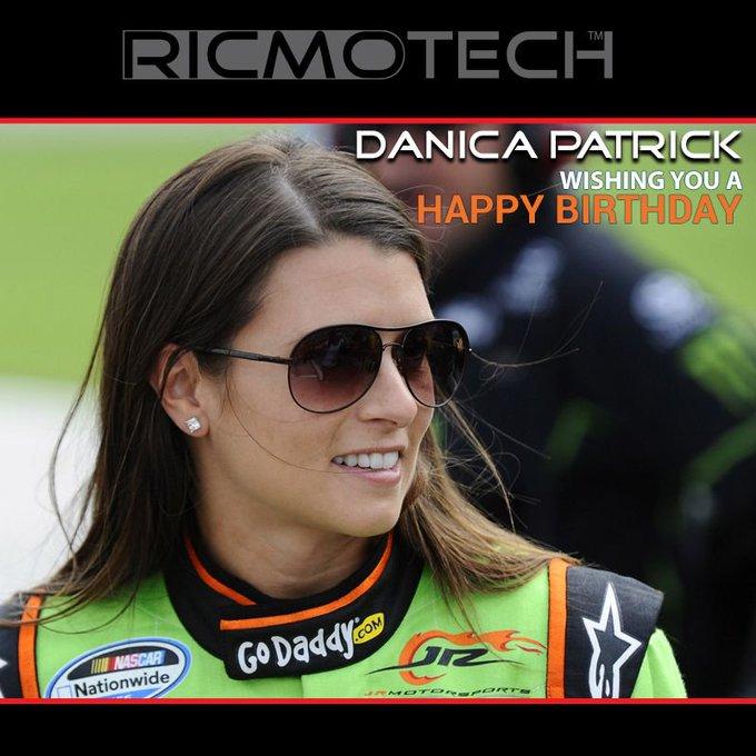 Ricmotech wishes to Danica Patrick a very Happy Birthday!