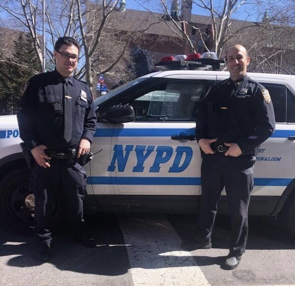 When Officers Porcaro and Calvo responded to a call about a dog being abused, they immediately began to investigate the situation. These determined @NYPD23Pct officers tracked down video evidence of the abuse, arrested the culprit, and rescued the abused pup!