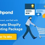 The Ultimate Shopify 10× Marketing Giveaway with @luckyorange @spocketofficial @LoyaltyLionHQ @gorgiasio @templatemonster https://t.co/3mTccLdOov #Shopify #Contest #marketing #GrowthHacking #ecommerce
