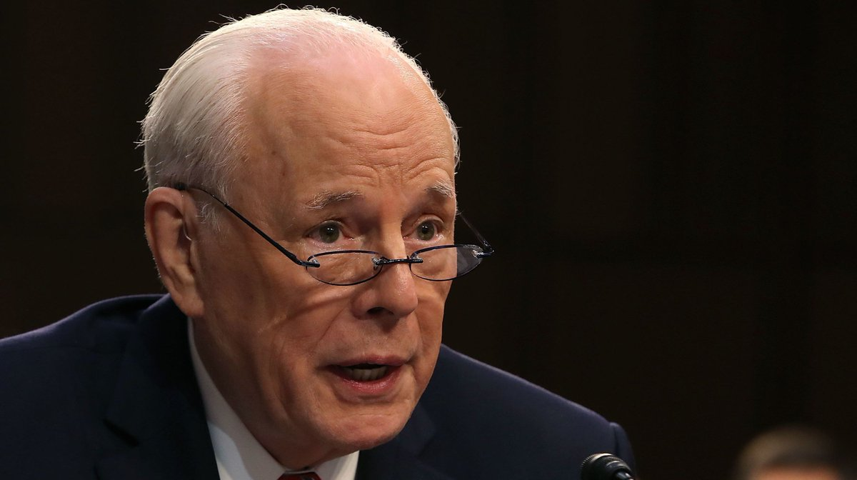 """John Dean, former White House counsel to President Richard M. Nixon, warned that Attorney General William Barr may be hiding something """"fairly ugly"""" inside the report filed by special counsel Robert Mueller https://yhoo.it/2HOfODs"""