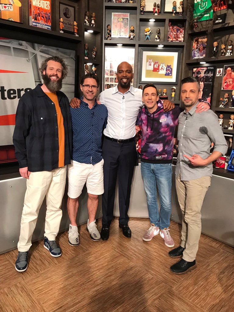 Shoutout to @ripcityhamilton for joining us on #TheStarters tonight. We'll get you a cat next time.