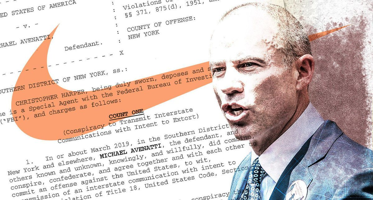 """""""This was an old-fashioned shakedown"""": Avenatti arrested and charged with extortion, embezzlement, bank and tax fraud https://yhoo.it/2HStTjp"""