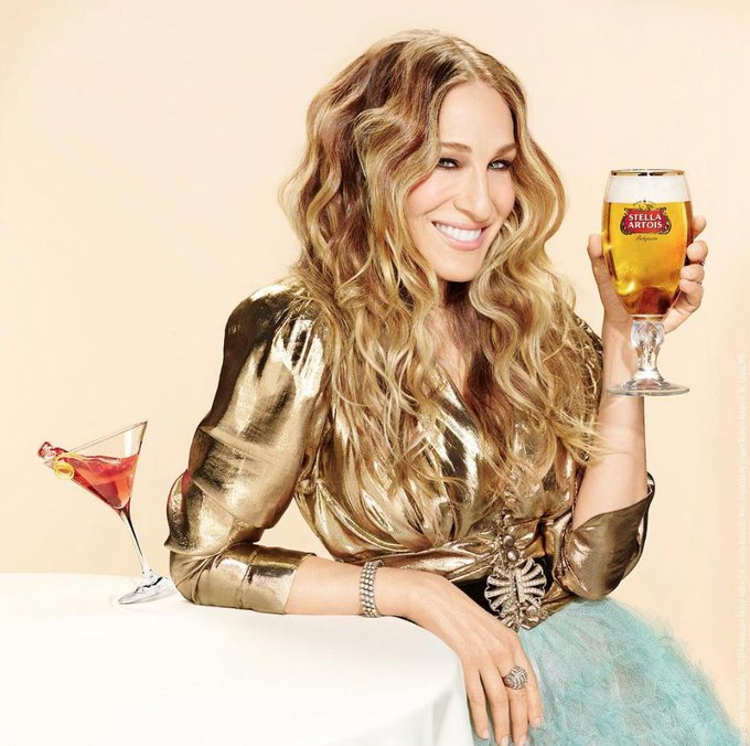 Happy 54th Birthday to one of our favourite fashion icons, Sarah Jessica Parker