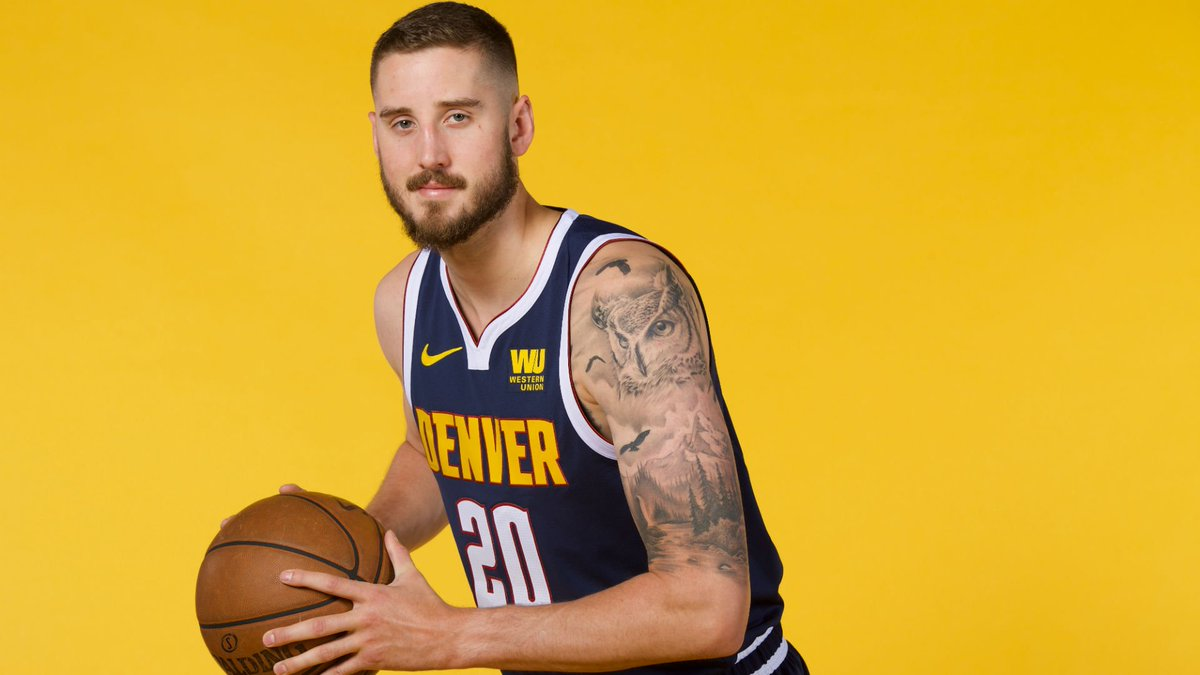We have recalled Tyler Lydon and transferred Brandon Goodwin from the G League.   #MileHighBasketball