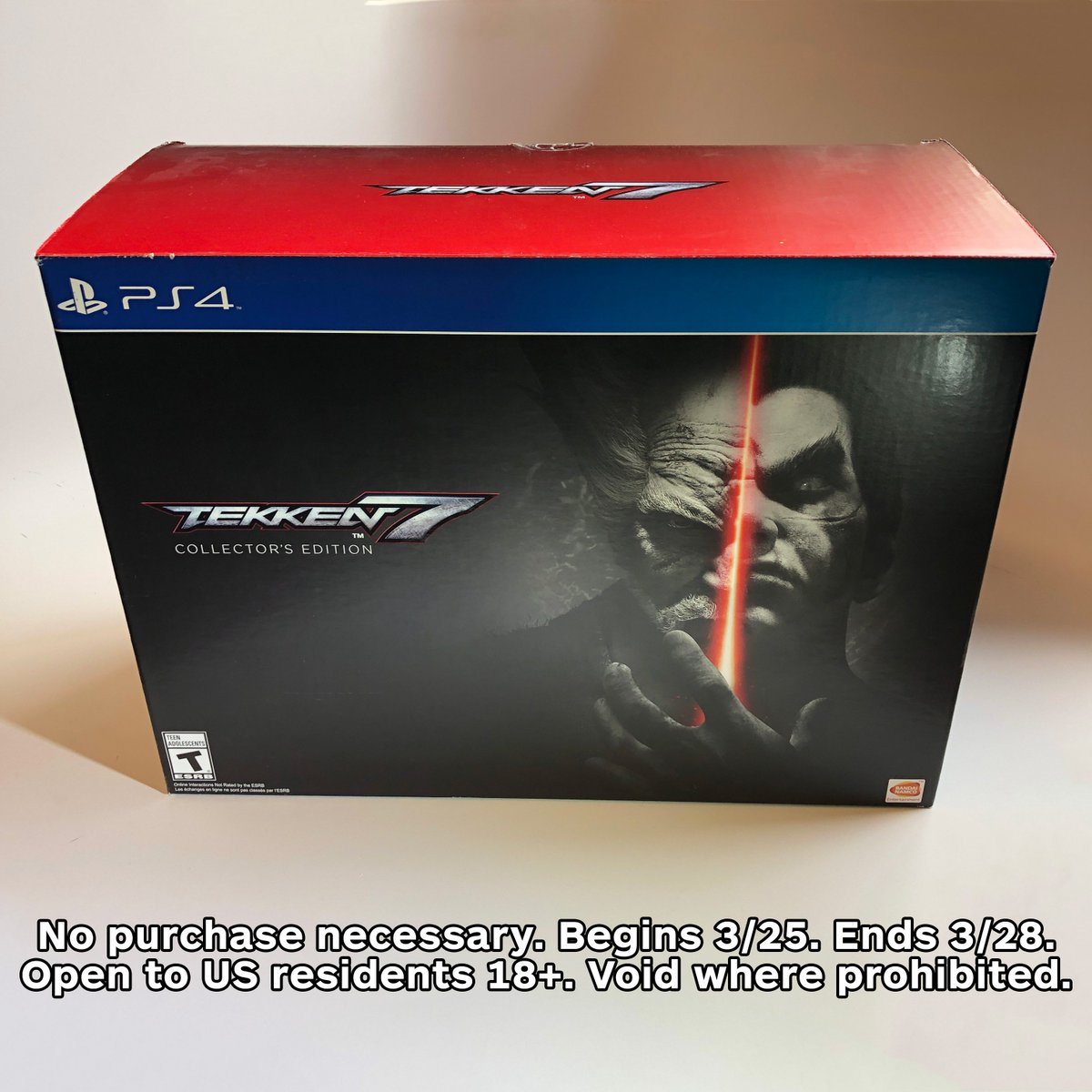 We're giving away one copy of the Tekken 7 Collector's Edition to a lucky fan!   RT with the hashtag #IGNSweepstakes and follow @IGN for your chance to win.   Rules: http://go.ign.com/0CYwclU