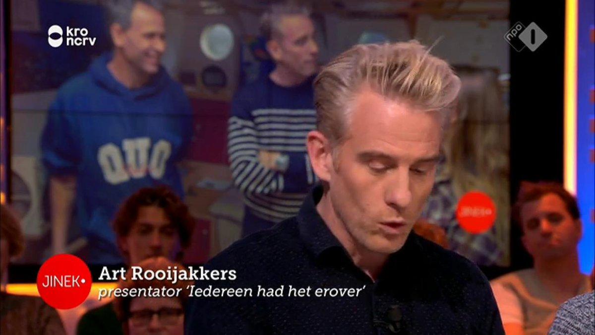 Art Rooijakkers bezoekt voor nieuw programma personen die het nieuws beheersten