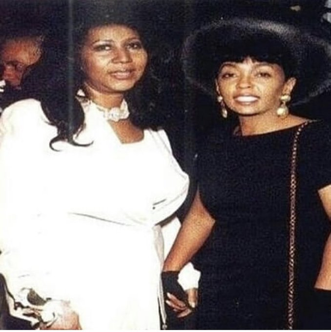 The Queen and my Fav!  Happy birthday to the Queen! Ms. Aretha Franklin