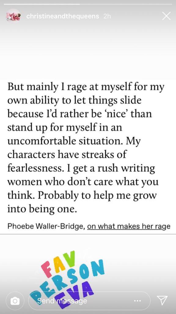 I feel this deeply, Phoebe. #rage