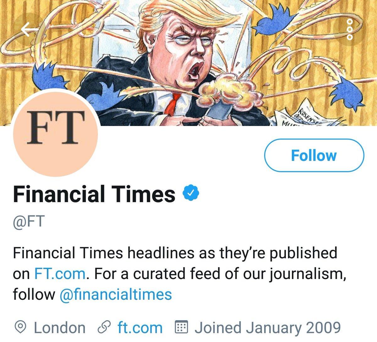 """Journalism"" @FT"