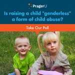 "Image for the Tweet beginning: Is raising a child ""genderless"""