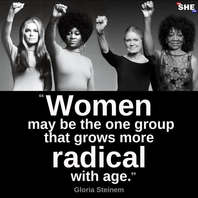 Happy 85th Birthday Gloria Steinem!