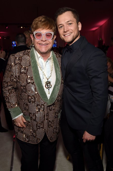 The biggest happy birthday to Sir Elton John! Rocketman will change everything for our guy this May.