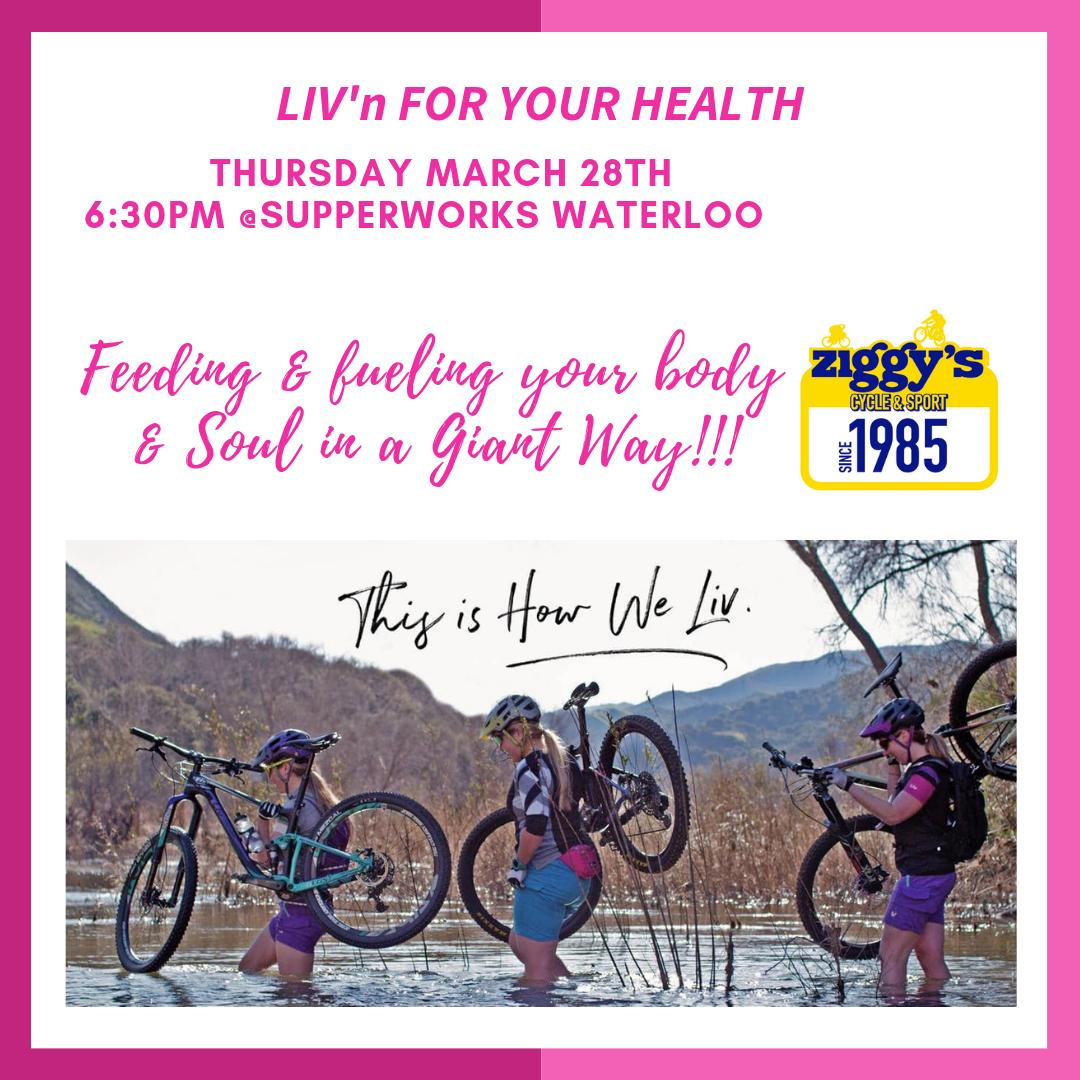 Just a friendly reminder to RSVP for our LIV event at @timeforsupperKW this Thursday! You will be informed by Dr. Colin Leis from @kwhealth about cycling related injuries. Everyone attending will take a gift bag to take home! We hope to see you there:) pic.twitter.com/4RNJTWEJiV