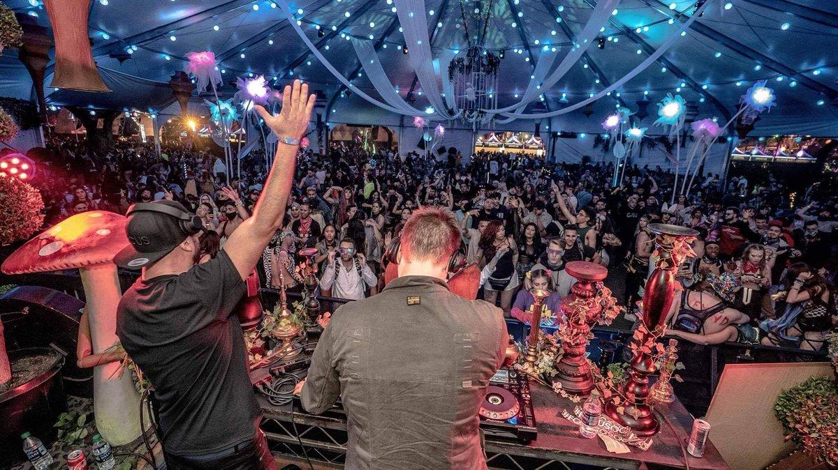 We had an amazing time playing for you @BeyondWland 🍄 @CatsAndBootsLA 🔍 @insomniacevents ♥️ .  @DJNonfiction @Josh_Billings  .  Photo by @ShowcaseMondays  .  #BeyondWonderland #BeyondWonderland2019 #focusoc #rave #edm #raves #housemusic #dancemusic #festivals