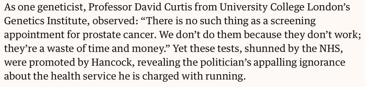 Perhaps the @Conservatives should learn the value of #ReccePull over #CommandPush. #NHS @PHE_uk https://www.theguardian.com/commentisfree/2019/mar/24/observer-view-matt-hancock-prostate-cancer-gaffe …