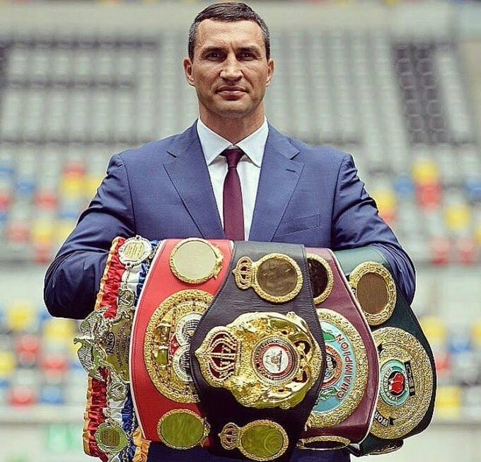 Happy 43rd Birthday to the legendary Wladimir Klitschko