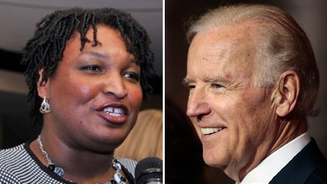 Stacey Abrams addresses rumors of 2020 ticket with Joe Biden https://t.co/oCeQ4nSmjF https://t.co/3XYgC3kXjQ