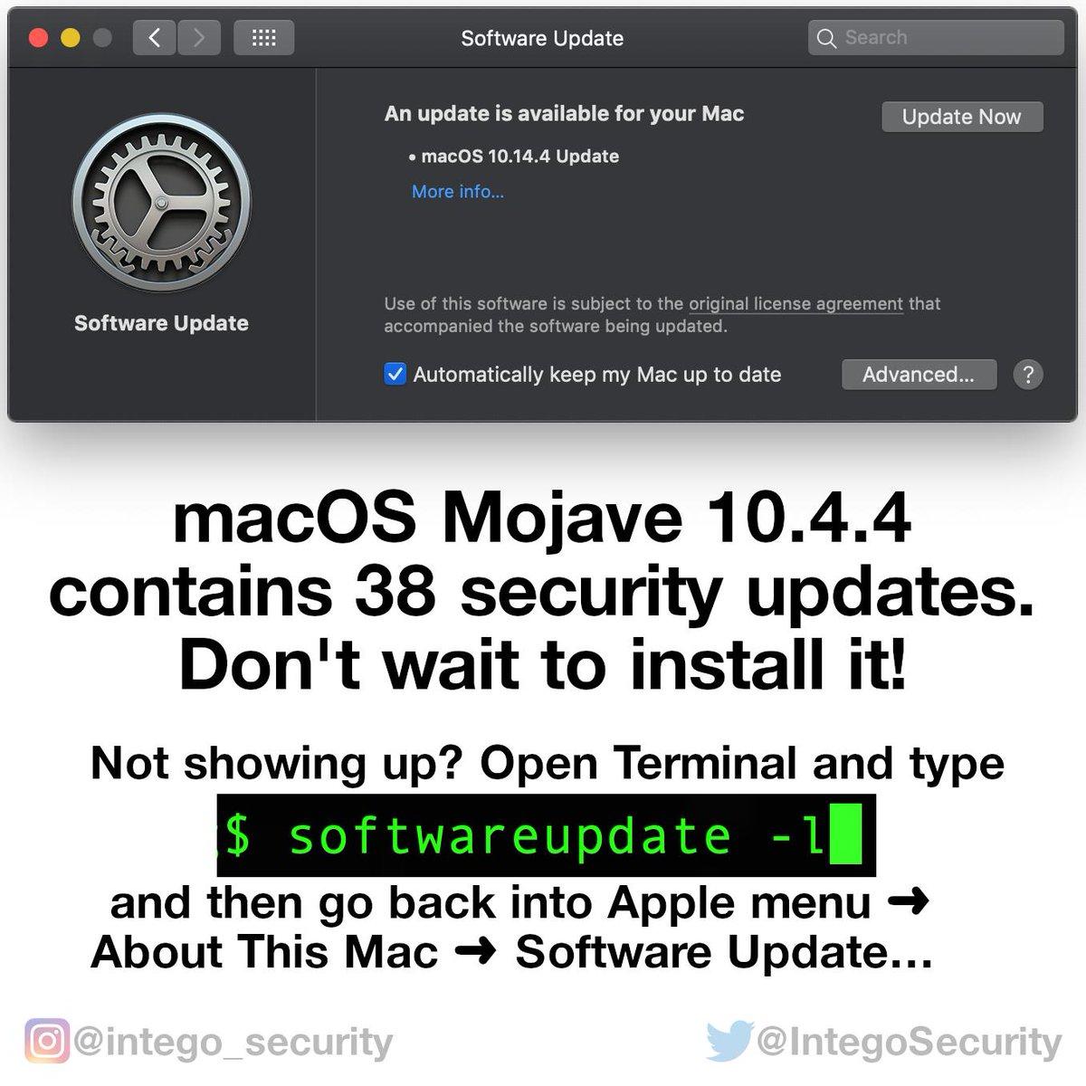 Intego Mac Security on Twitter: